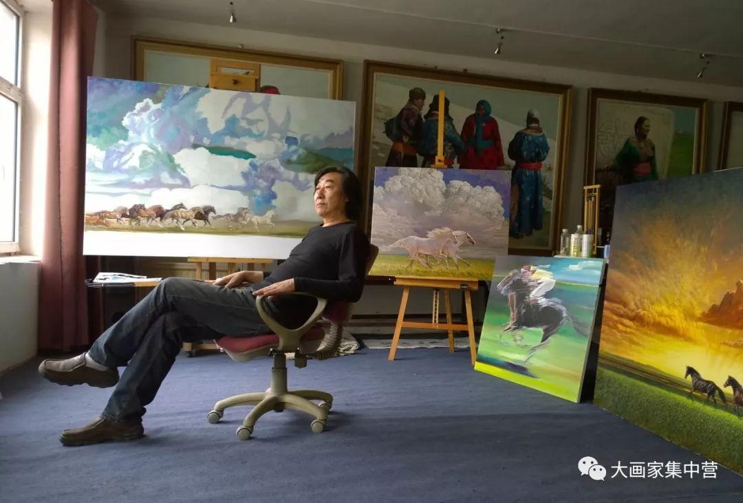 内蒙古画家--彭志信 第1张 内蒙古画家--彭志信 蒙古画廊