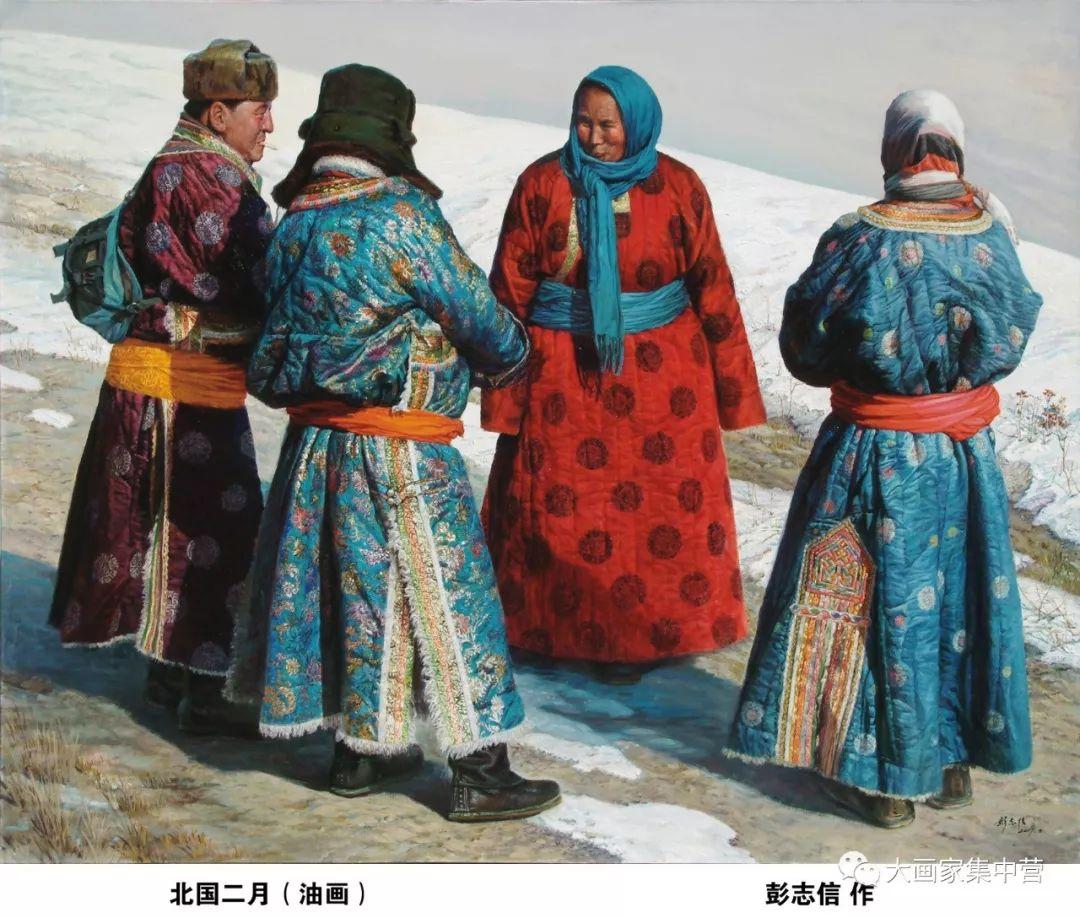内蒙古画家--彭志信 第2张 内蒙古画家--彭志信 蒙古画廊