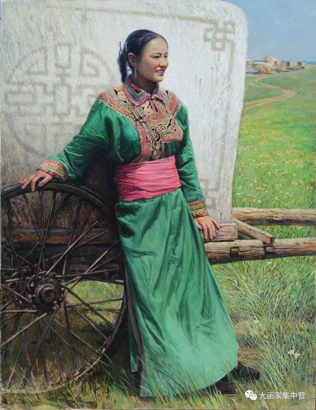 内蒙古画家--彭志信 第4张 内蒙古画家--彭志信 蒙古画廊