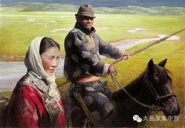 内蒙古画家--彭志信 第3张 内蒙古画家--彭志信 蒙古画廊