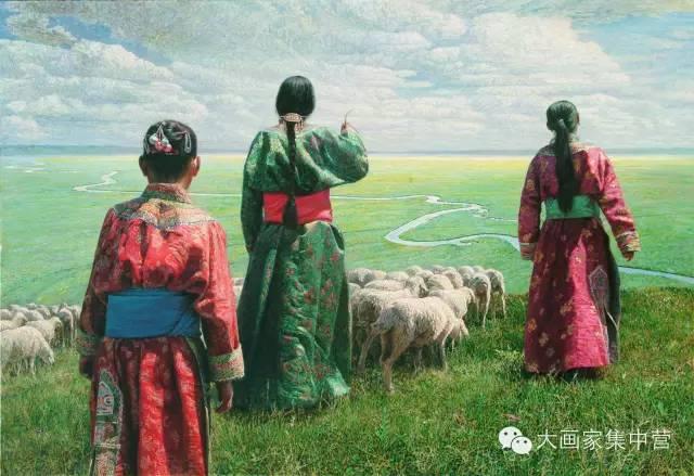 内蒙古画家--彭志信 第6张 内蒙古画家--彭志信 蒙古画廊