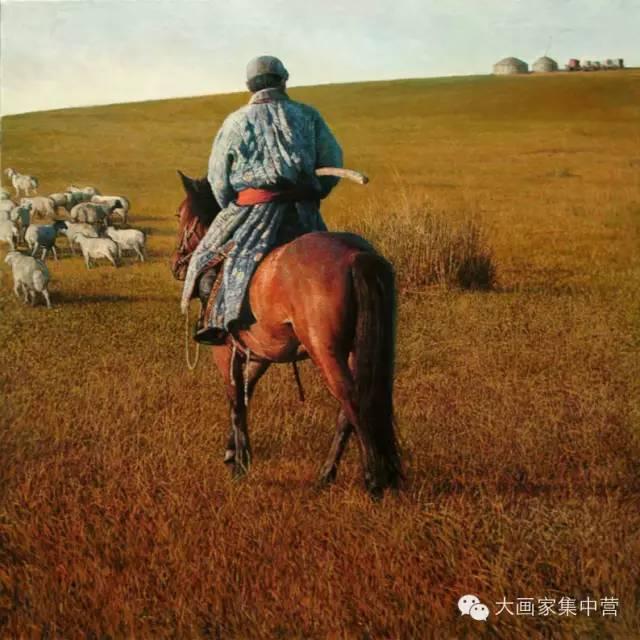 内蒙古画家--彭志信 第14张 内蒙古画家--彭志信 蒙古画廊