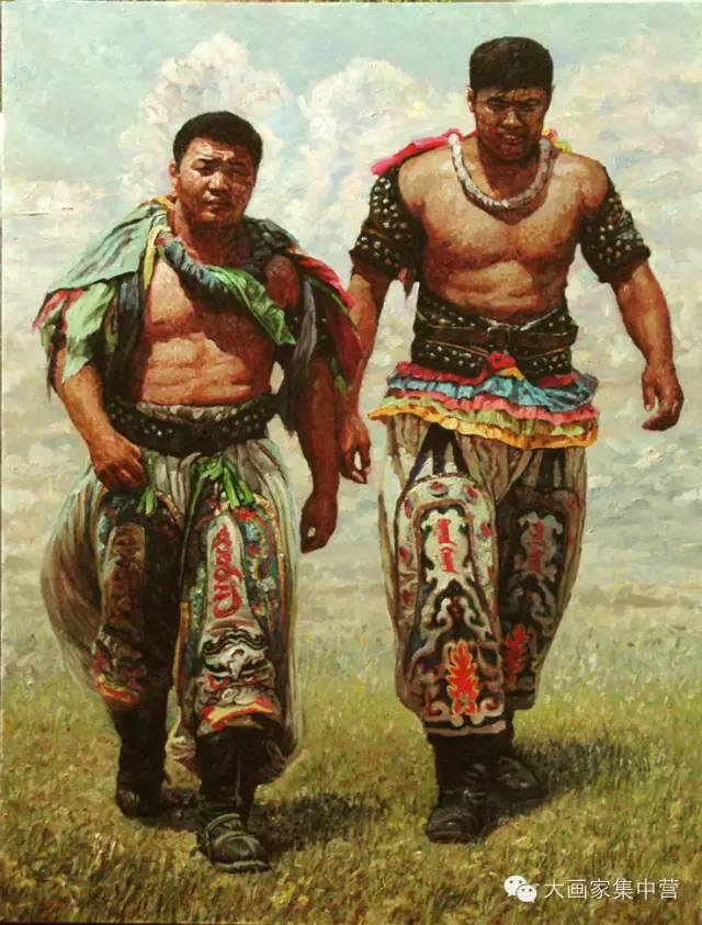 内蒙古画家--彭志信 第15张 内蒙古画家--彭志信 蒙古画廊