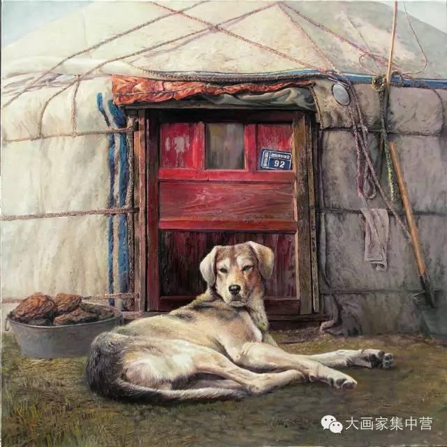 内蒙古画家--彭志信 第13张 内蒙古画家--彭志信 蒙古画廊