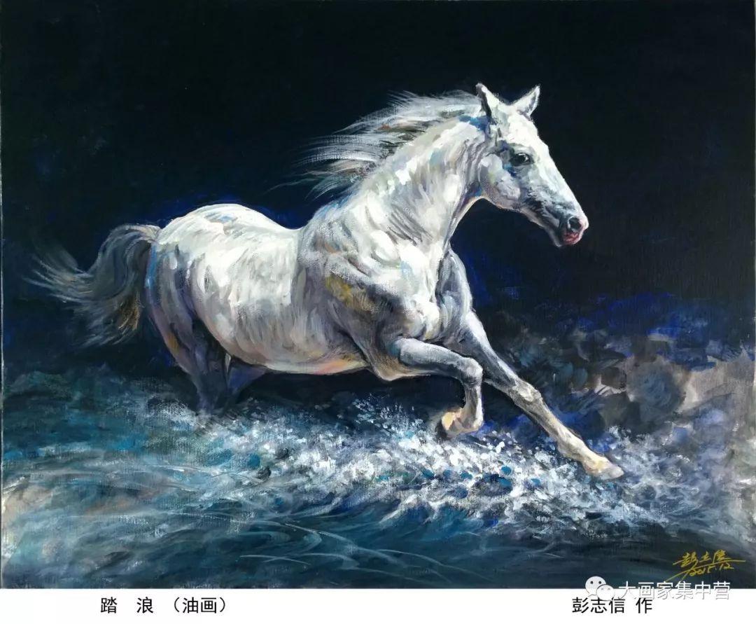 内蒙古画家--彭志信 第17张 内蒙古画家--彭志信 蒙古画廊