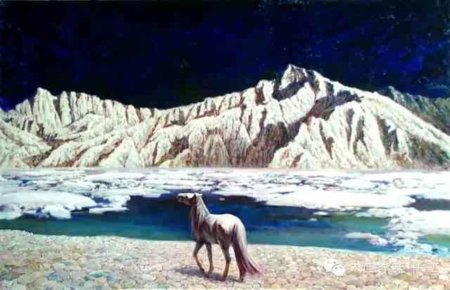 内蒙古画家--彭志信 第22张 内蒙古画家--彭志信 蒙古画廊