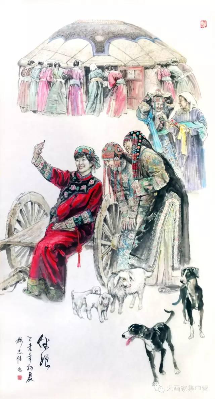 内蒙古画家--彭志信 第46张 内蒙古画家--彭志信 蒙古画廊