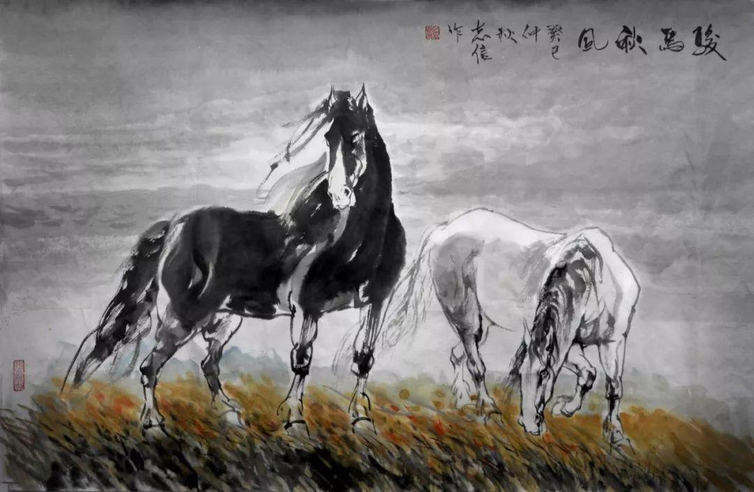 内蒙古画家--彭志信 第50张 内蒙古画家--彭志信 蒙古画廊