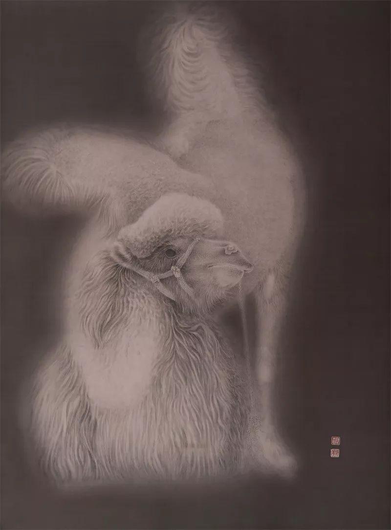 格日勒其其格的艺术作品欣赏 第3张