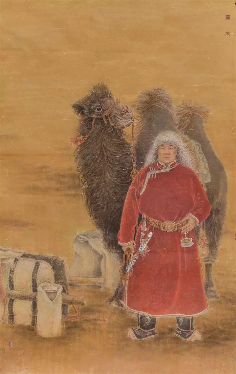 格日勒其其格的艺术作品欣赏 第5张