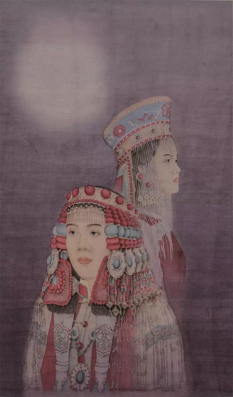 格日勒其其格的艺术作品欣赏 第9张