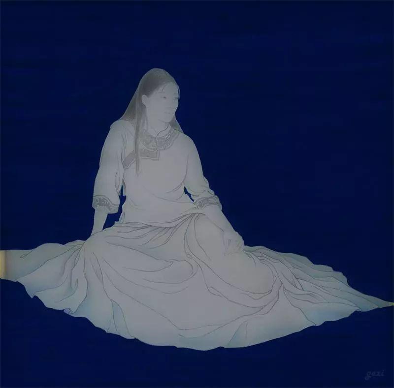 格日勒其其格的艺术作品欣赏 第10张