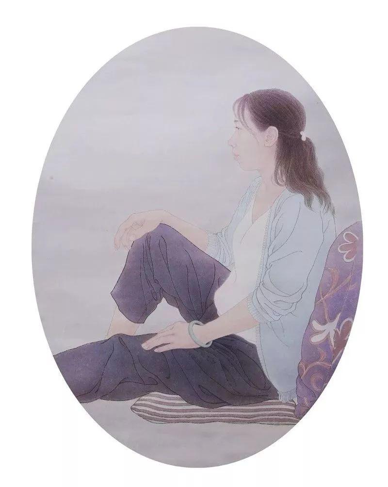 格日勒其其格的艺术作品欣赏 第12张