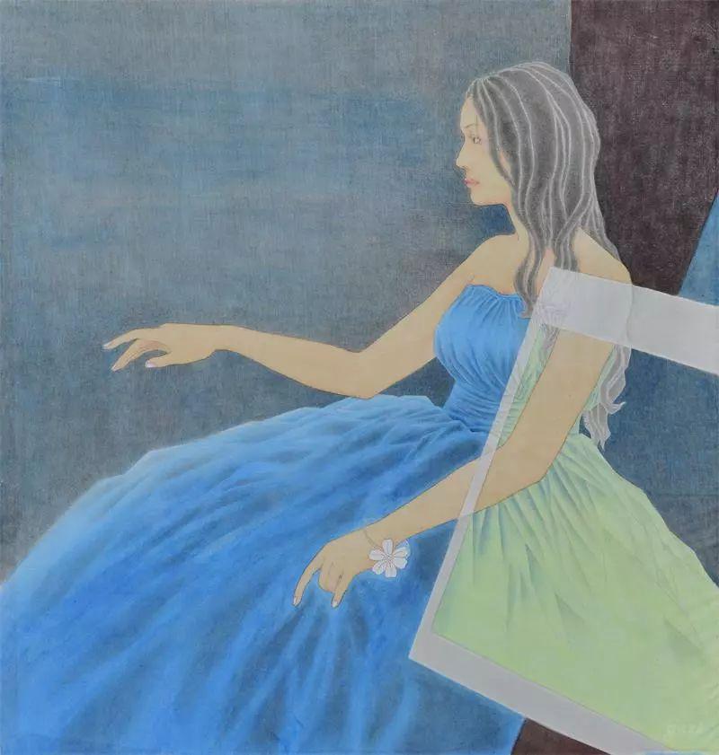 格日勒其其格的艺术作品欣赏 第14张