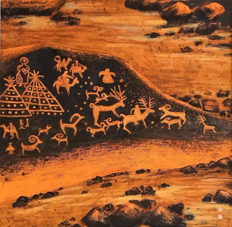 格日勒其其格的艺术作品欣赏 第19张