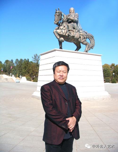 中外名人艺术 ▕  当代著名国画家▕ 鲍凤林 第1张