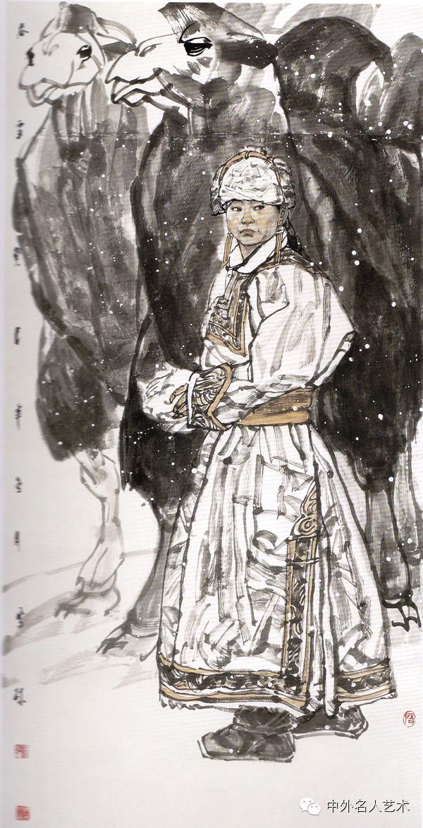 中外名人艺术 ▕  当代著名国画家▕ 鲍凤林 第3张