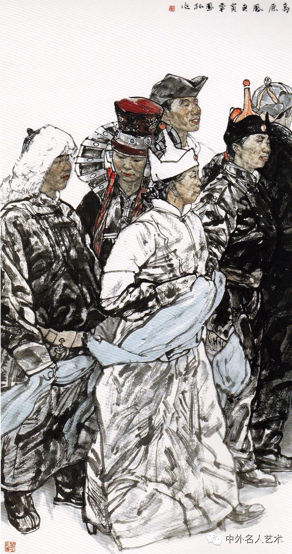 中外名人艺术 ▕  当代著名国画家▕ 鲍凤林 第5张