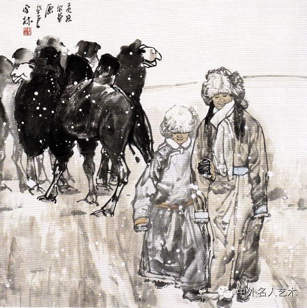 中外名人艺术 ▕  当代著名国画家▕ 鲍凤林 第7张