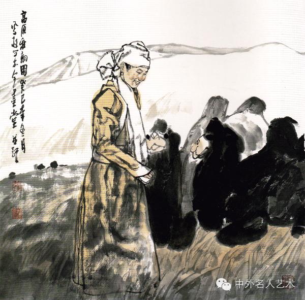 中外名人艺术 ▕  当代著名国画家▕ 鲍凤林 第6张