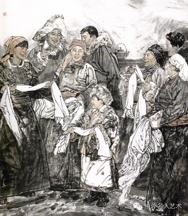 中外名人艺术 ▕  当代著名国画家▕ 鲍凤林 第8张