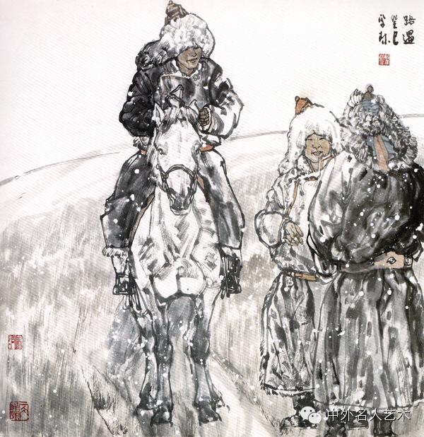 中外名人艺术 ▕  当代著名国画家▕ 鲍凤林 第13张
