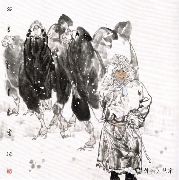 中外名人艺术 ▕  当代著名国画家▕ 鲍凤林 第12张