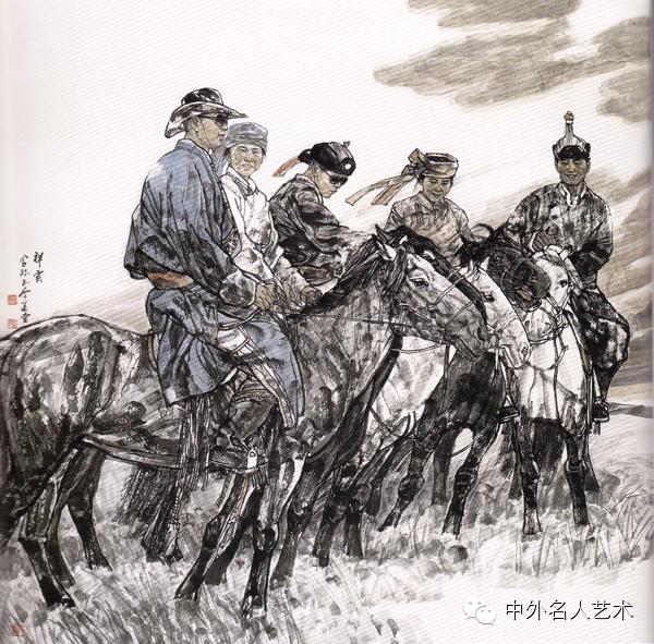 中外名人艺术 ▕  当代著名国画家▕ 鲍凤林 第14张