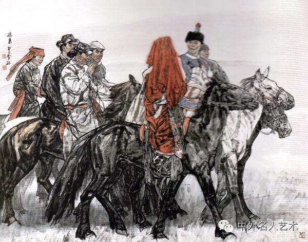 中外名人艺术 ▕  当代著名国画家▕ 鲍凤林 第17张