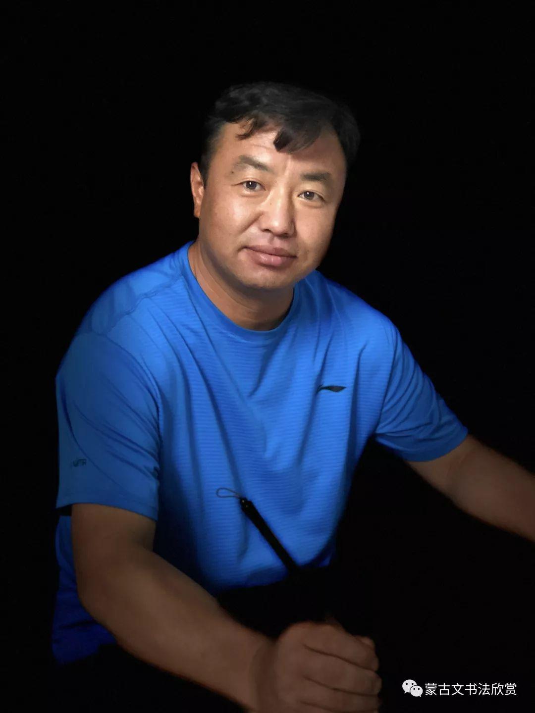 蒙古文书法欣赏——丹巴 第1张 蒙古文书法欣赏——丹巴 蒙古书法