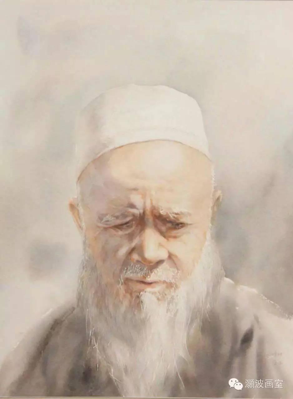 著名蒙古族青年水彩画家宝玉作品欣赏 第12张