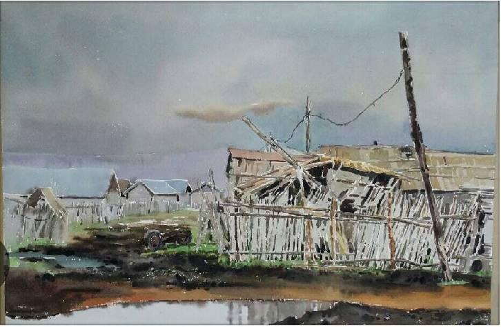 蒙古族青年画家白国君作品欣赏 第7张