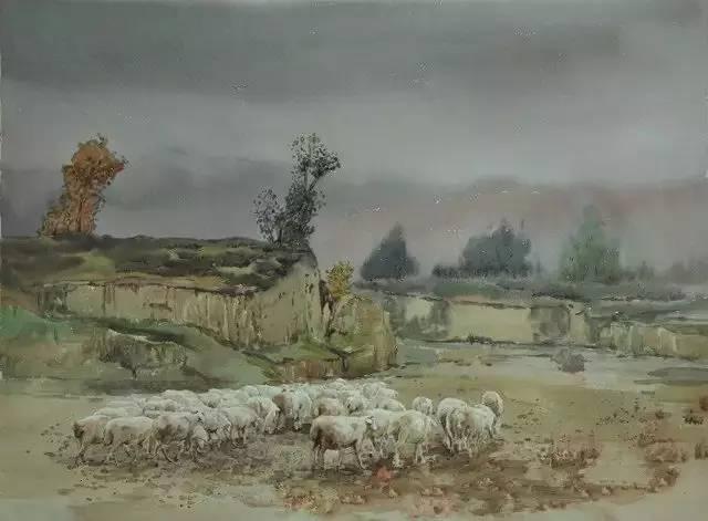 蒙古族青年画家白国君作品欣赏 第9张