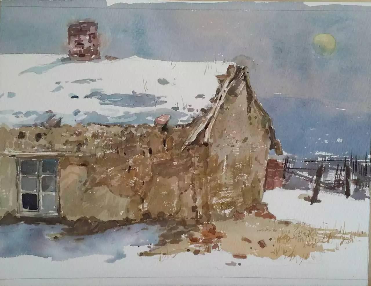 蒙古族青年画家白国君作品欣赏 第10张