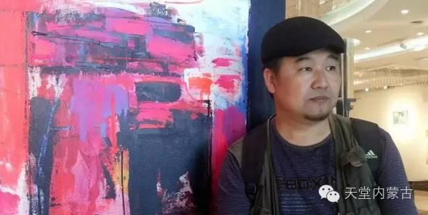 蒙古族青年画家——朝鲁及其油画创作 第1张
