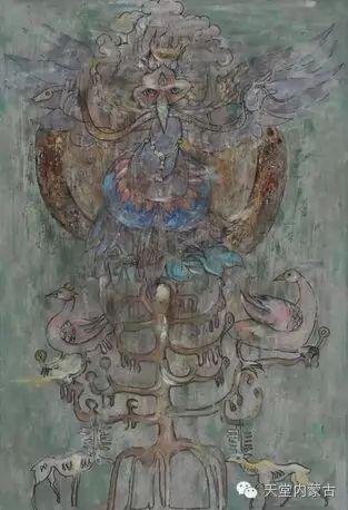 蒙古族青年画家——朝鲁及其油画创作 第5张