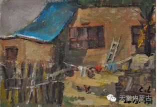 蒙古族青年画家——朝鲁及其油画创作 第10张