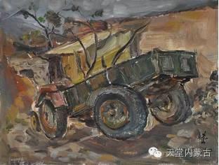 蒙古族青年画家——朝鲁及其油画创作 第8张