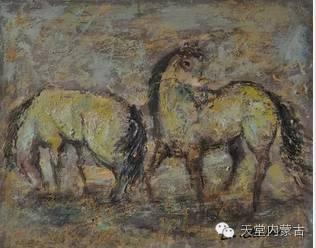 蒙古族青年画家——朝鲁及其油画创作 第16张
