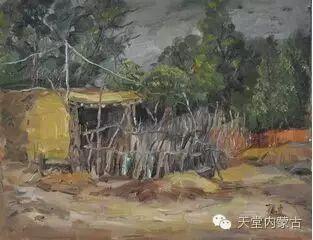 蒙古族青年画家——朝鲁及其油画创作 第22张