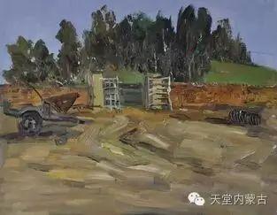 蒙古族青年画家——朝鲁及其油画创作 第17张