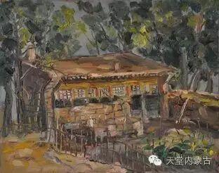 蒙古族青年画家——朝鲁及其油画创作 第19张
