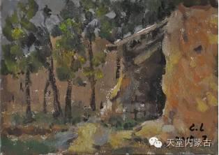蒙古族青年画家——朝鲁及其油画创作 第23张