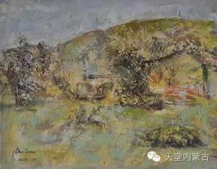 蒙古族青年画家——朝鲁及其油画创作 第18张