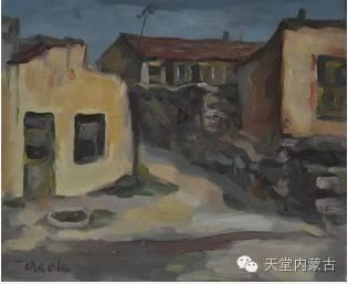 蒙古族青年画家——朝鲁及其油画创作 第20张