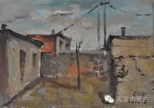 蒙古族青年画家——朝鲁及其油画创作 第26张