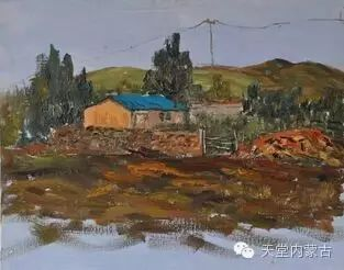 蒙古族青年画家——朝鲁及其油画创作 第25张