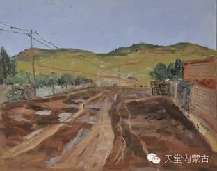 蒙古族青年画家——朝鲁及其油画创作 第29张