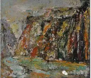 蒙古族青年画家——朝鲁及其油画创作 第33张