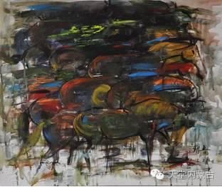蒙古族青年画家——朝鲁及其油画创作 第32张